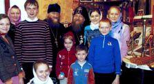Отец Василий и его семья в горе и радости